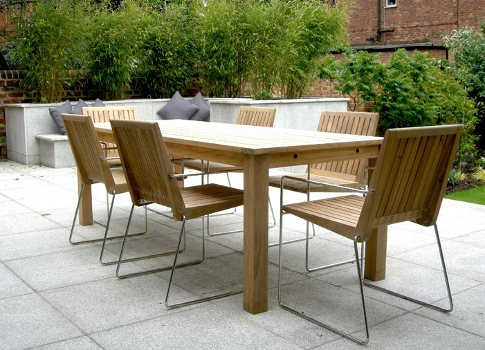 Incredible Contemporary Garden Table Best 25 Contemporary Garden Furniture Ideas On Pinterest