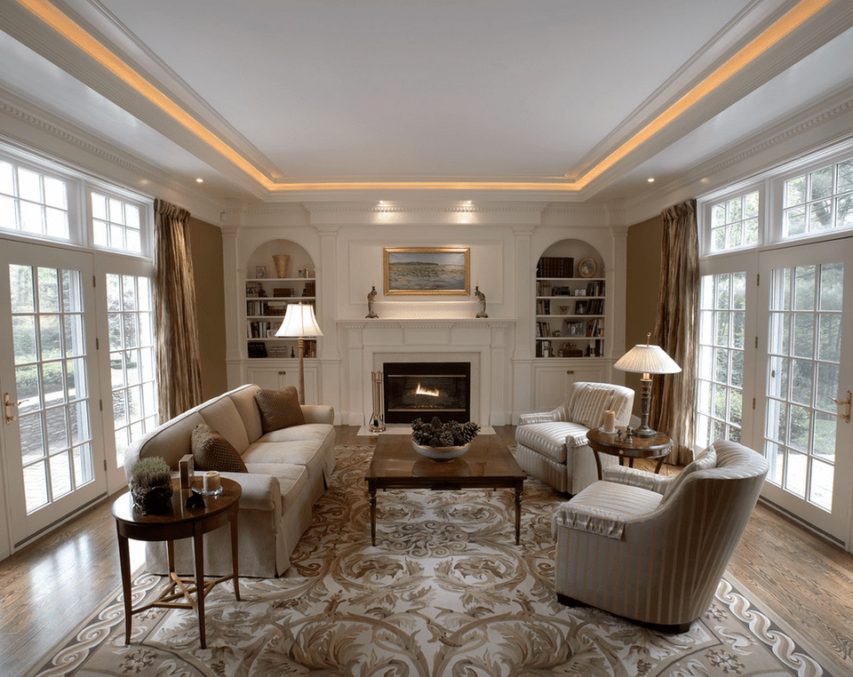 Incredible Front Room Ceiling Lights 15 Beautiful Living Room Lighting Ideas