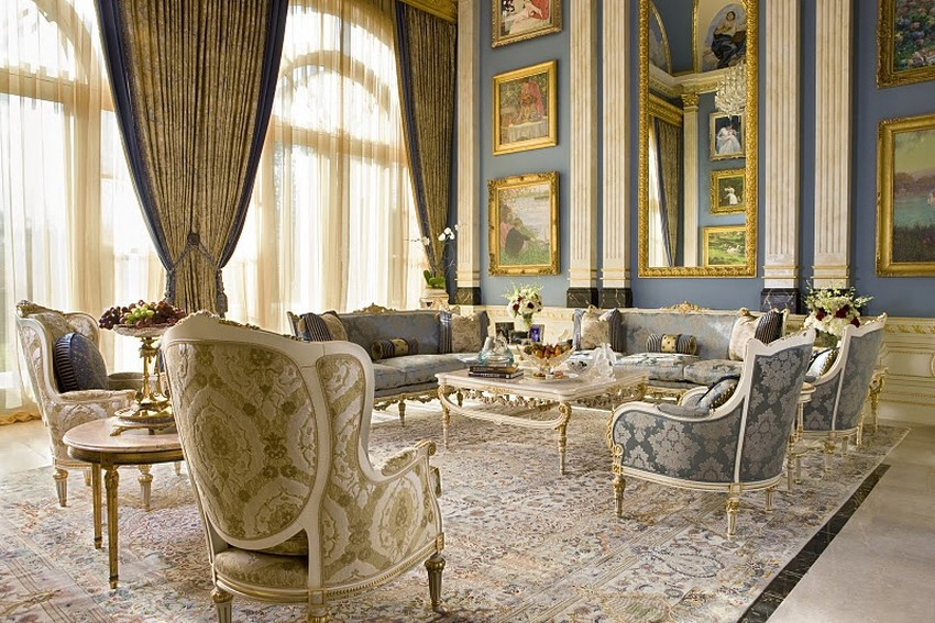 Incredible High End Living Room Furniture Luxury Living Room Interior Design Ideas With Furniture Set