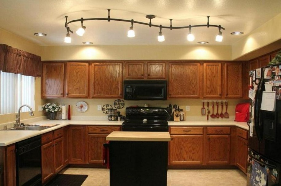 Incredible Long Kitchen Ceiling Lights Long Kitchen Ceiling Lights Considering The Combination Between
