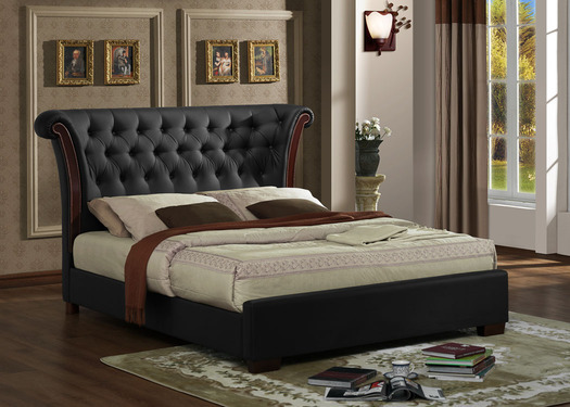 Incredible Luxury Leather Beds Grand Luxury Kingsize Leather Bed