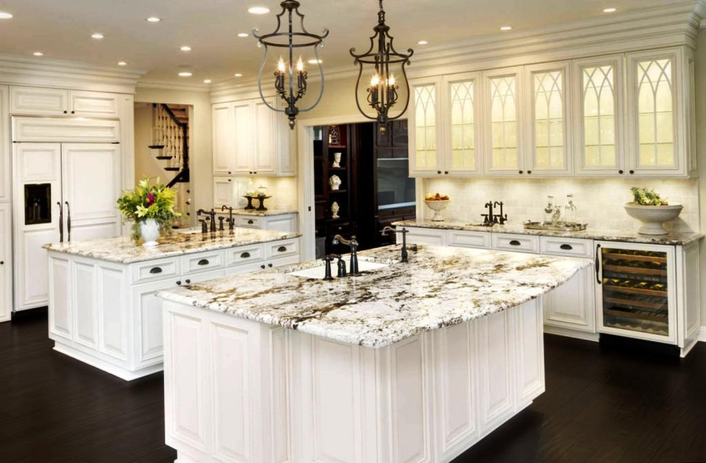 Incredible Luxury White Kitchen Luxury Kitchen Designs With White Cabinets And Granite Countertops