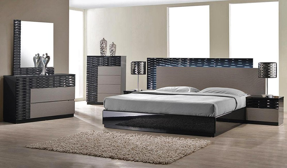 Incredible Modern Bedroom Collections Modern Platform Bed Collection