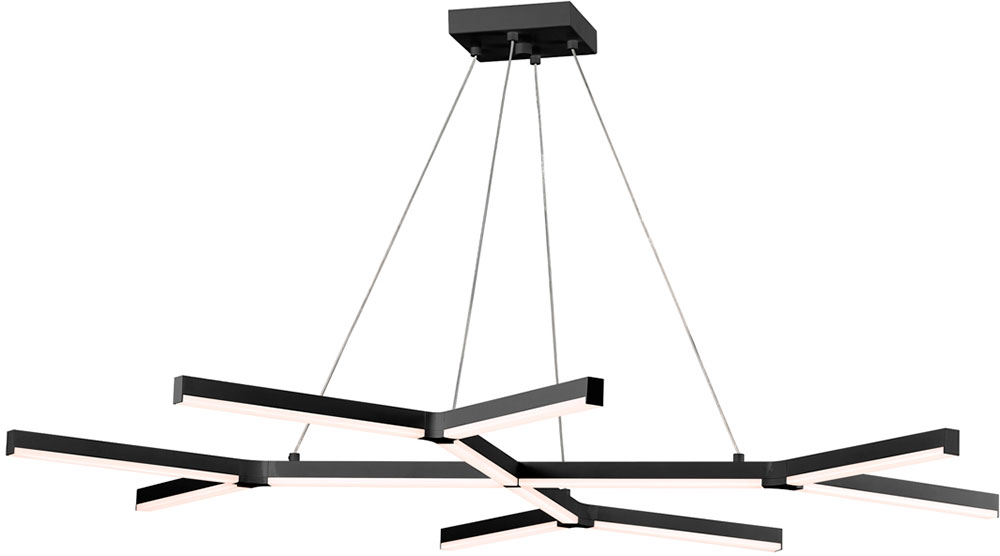 Incredible Modern Black Light Fixtures Sonneman 277525 Quady Modern Satin Black Led Kitchen Island