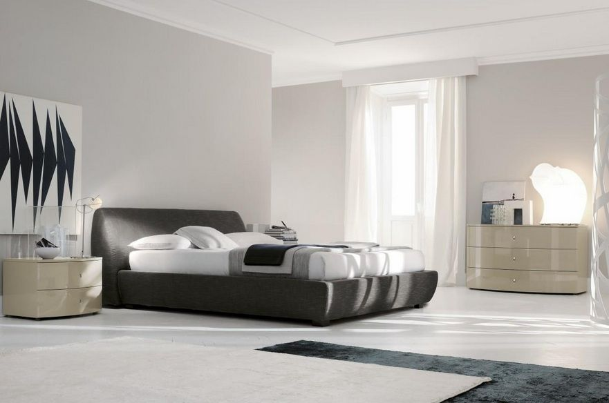 Incredible Modern Italian Bed Made In Italy Leather High End Contemporary Furniture Fullerton