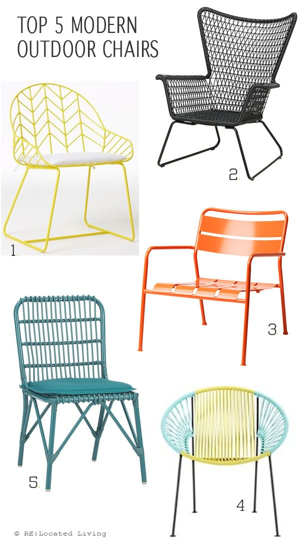 Incredible Modern Outdoor Chairs Best 25 Modern Outdoor Chairs Ideas On Pinterest Diy Chair Diy