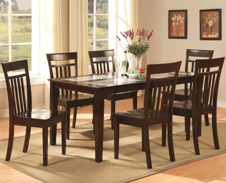 Incredible Wooden Glass Dining Table Designs Dining Room Classic Dining Table Design With Rectangular Glass