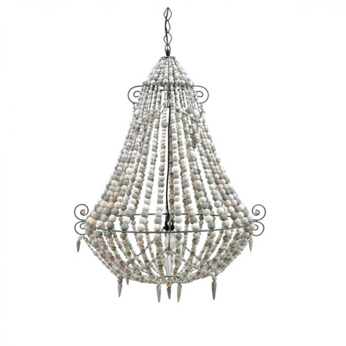 Innovative Big White Chandelier Chandeliers Design Marvelous Big White Wood Chandelier Old