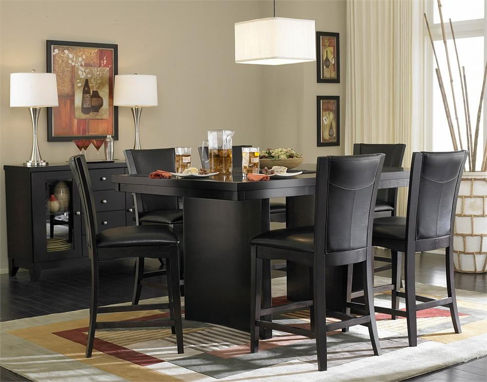 Innovative Black Dining Room Set Dining Room Appealing Modern Black Dining Room Sets Contemporary