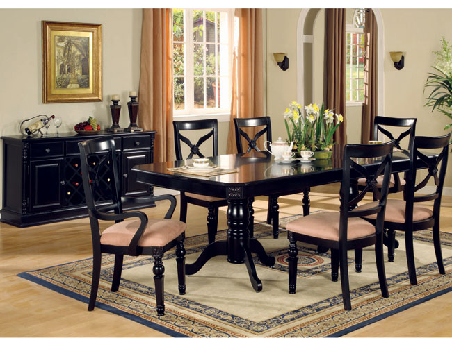 Innovative Black Dining Room Set Great Black Dining Room Chairs Breathtaking Black Dining Room