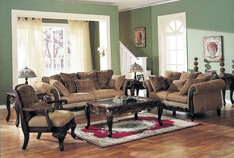Innovative Classic Living Room Furniture Chenille Fabric Classic Living Room Sofa Woptions