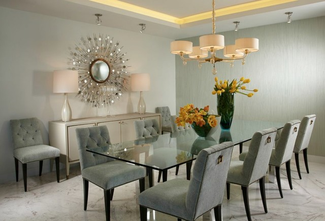 Innovative Contemporary Dining Room Design J Design Group Interior Designer Miami Modern Contemporary