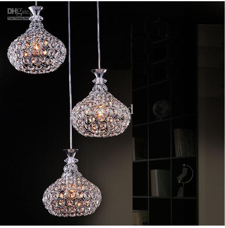 Innovative Crystal Chandelier Contemporary Design Modern Crystal Chandelier Lighting Chrome Fixture Pendant Lamp