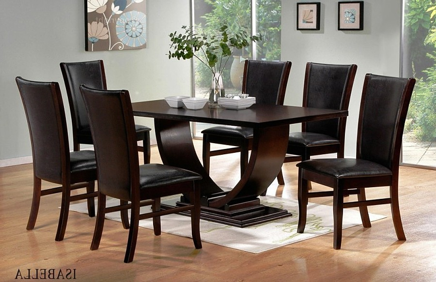 Innovative Dark Wood Dining Room Table And Chairs Astounding Dark Wood Dining Room Table And Chairs 13 In Dining