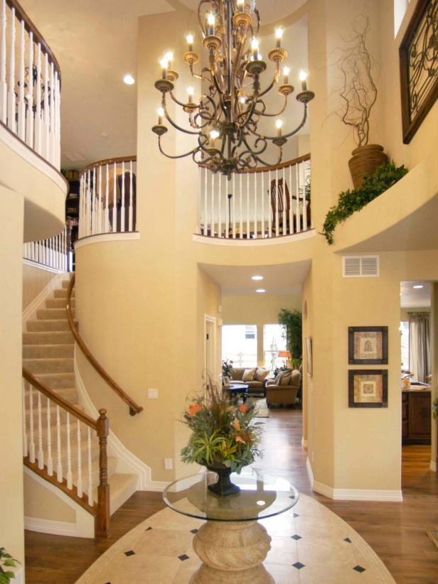 Innovative Entry Chandelier Lighting Entryway Lighting Designs Hgtv