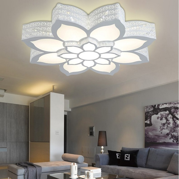 Innovative Fancy Led Ceiling Lights Fancy Iron Romantic Individuality Living Room Light Led Ceiling