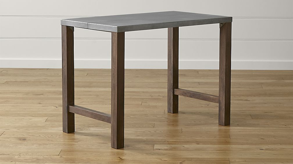 Innovative High Dining Table Galvin High Dining Table Crate And Barrel