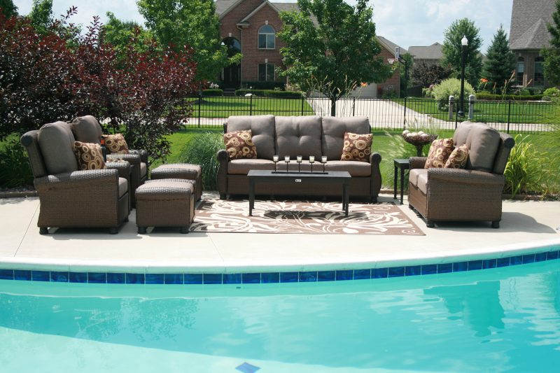Innovative High End Pool Furniture Outdoor Island Lanai 2 Outdoor Pool Furniture Unique Pictures