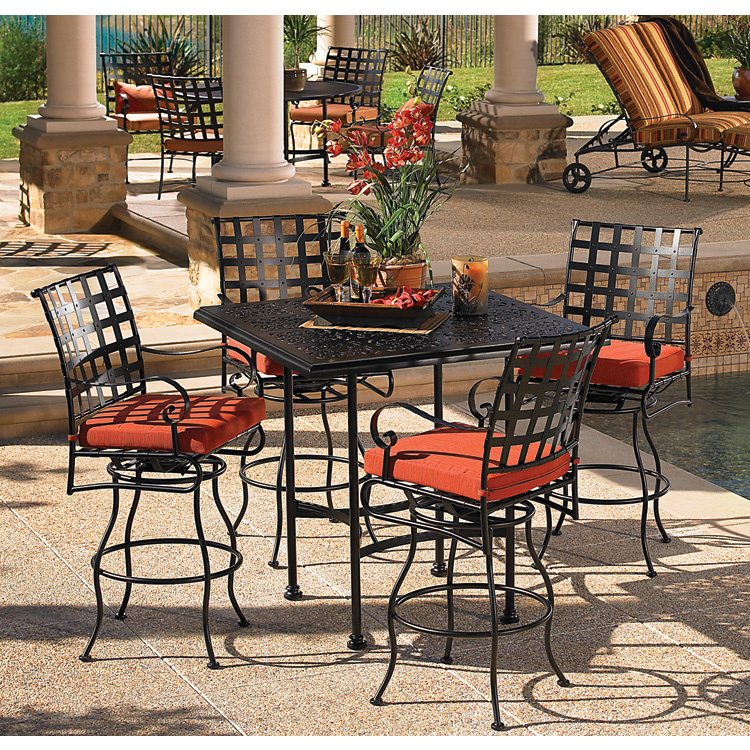 Innovative High Top Patio Furniture Decor Of High Top Patio Sets Backyard Decorating Suggestion Patio