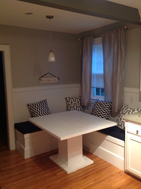Innovative Kitchen Nook Seating How To Make A Custom Breakfast Seating Nook Snapguide