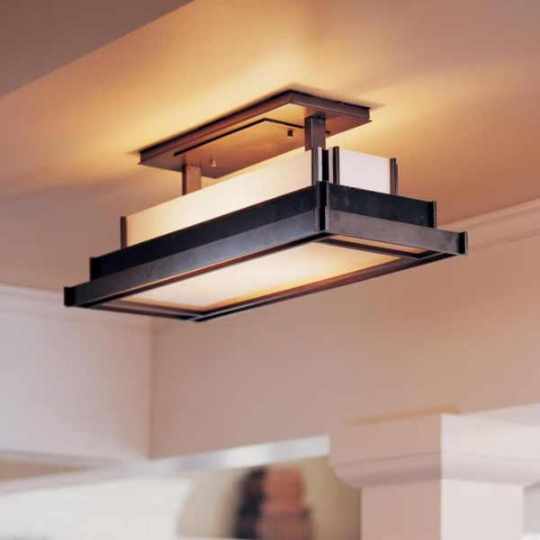 Innovative Long Kitchen Ceiling Lights Outstanding Awesome Flush Mount Kitchen Lighting With Ceiling
