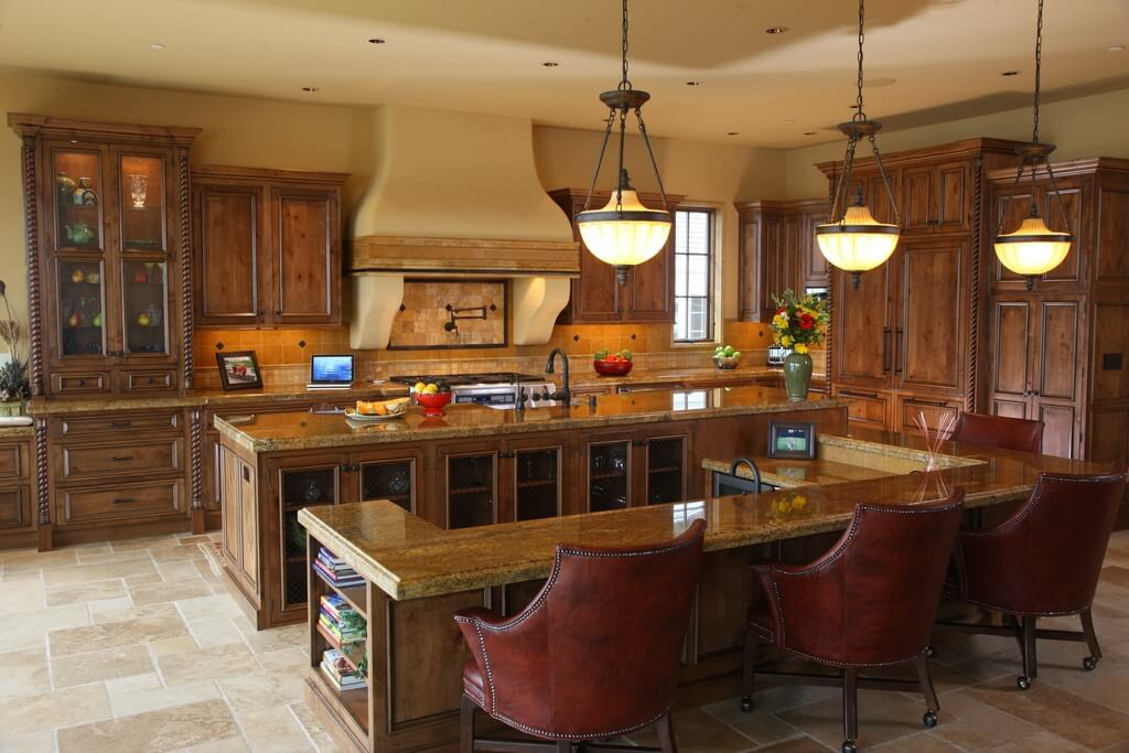 Innovative Luxury Kitchen Island 30 Custom Luxury Kitchen Designs That Cost More Than 100000