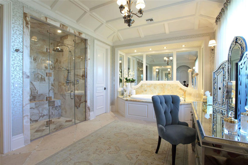 Innovative Luxury Master Bathroom Showers 63 Luxury Walk In Showers Design Ideas Designing Idea
