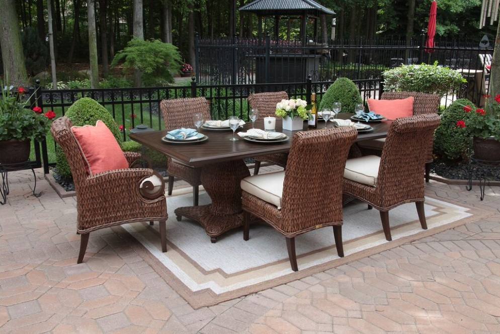 Innovative Luxury Outdoor Dining Chairs Gorgeous Luxury Outdoor Dining Furniture Aerin Collection All