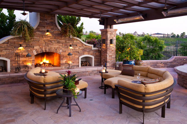 Innovative Luxury Outdoor Patio Designs Luxury And Classy Mediterranean Patio Designs