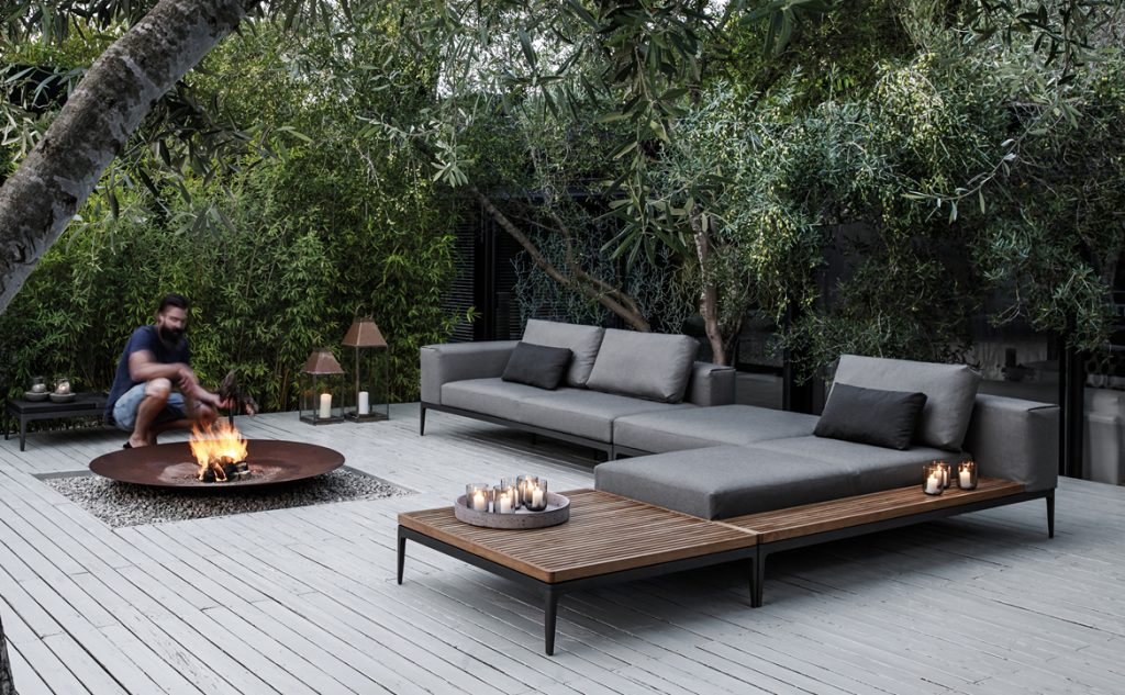 Innovative Luxury Outdoor Sofa Gloster Furniture Is Made From Luxury Teak Wood Hausers Patio