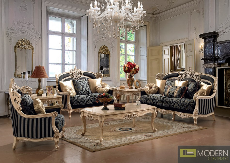 Innovative Luxury Traditional Living Room Furniture Luxurious Traditional Style Formal Living Room Furniture Set Zhd 03