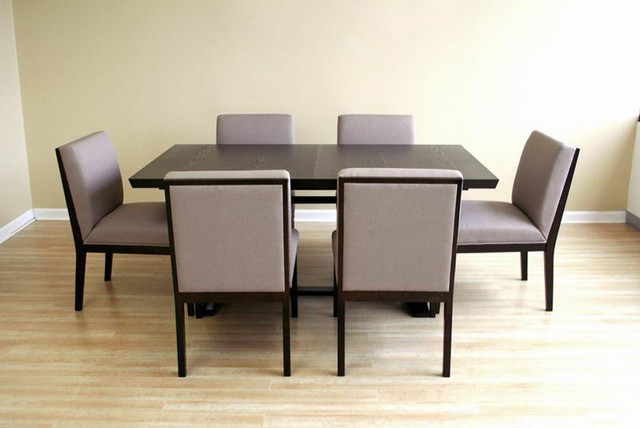 Innovative Modern Dining Table Set Modern Wood Dining Room Table For Goodly Modern Extendable Wooden