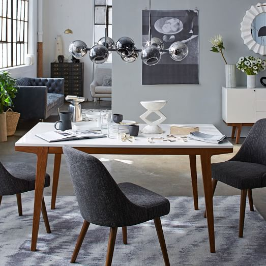 Innovative Modern Dinner Table Modern Dining Table West Elm