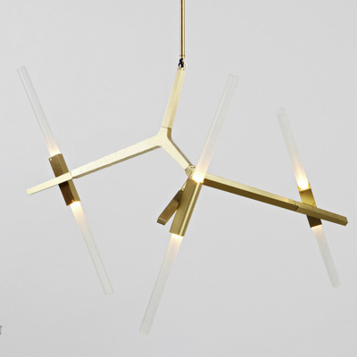 Innovative Modern Gold Chandelier Italy Rollhill Agnes Chandelier Light Modern Goldblack Tree