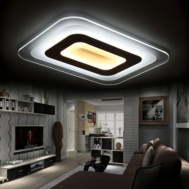 Innovative Modern Led Ceiling Lights Ultra Thin Acrylic Modern Led Ceiling Lights For Living Room