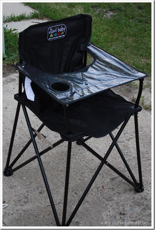 Innovative Outdoor High Chair Win Ciao Ba Portable Go Anywhere High Chair Review