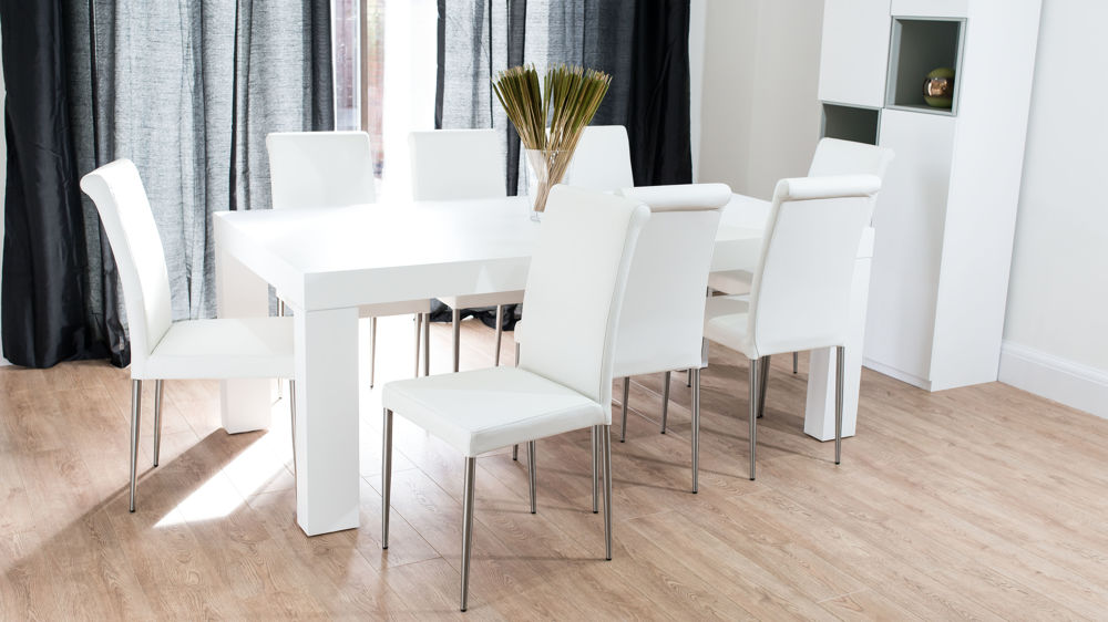 Innovative White Dining Table And Chairs Chair Endearing White Dining Tables And Chairs Emilia Oak Table