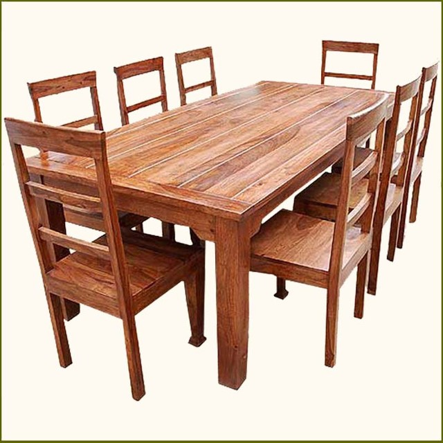 Innovative Wooden Dining Table And Chairs Exciting Real Wood 53 In Small Gl