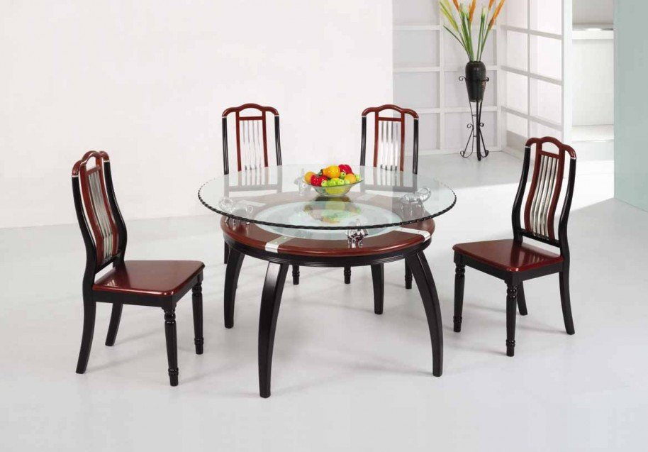 Innovative Wooden Glass Dining Table Designs Luxury Glass Dining Table 565 Latest Decoration Ideas