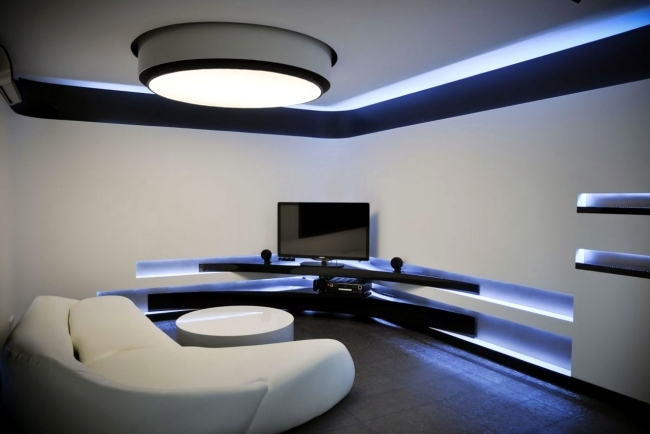 Lovable Ceiling Led Lights Design 33 Ideas For Ceiling Lighting And Indirect Effects Of Led Lighting