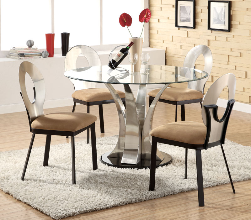 Lovable Contemporary Round Dining Table For 6 Best Round Contemporary Dining Table Pictures All Contemporary