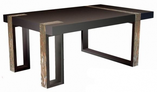 Lovable Contemporary Wood Dining Table Modern Wood Dining Table Urban Rustic Dining Room Furniture Rustic