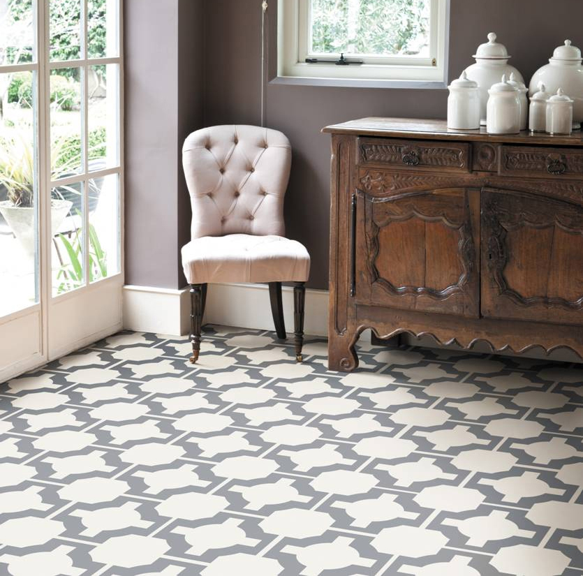 Lovable Designer Vinyl Floor Tiles Awesome Patterned Vinyl Flooring Neisha Crosland Charcoal Parquet