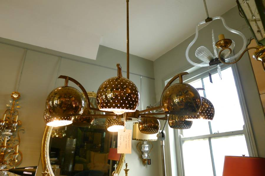 Lovable Interesting Ceiling Lights Unusual Brass Ceiling Light France Circus Antiques Dma Homes