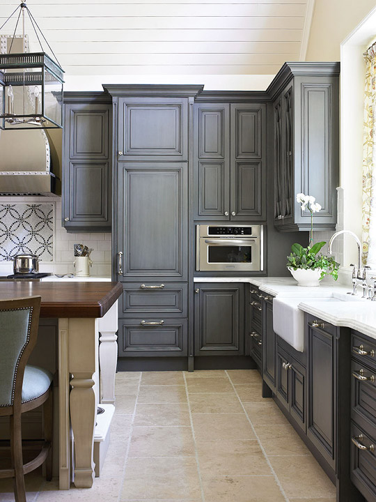 Lovable Kitchen Cabinet Furniture Kitchen Cabinets With Furniture Style Flair Traditional Home