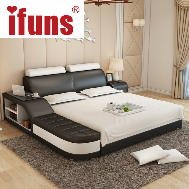 Lovable Luxury Leather Beds Nameifuns Luxury Bedroom Furniture Modern Design Kingqueen Size