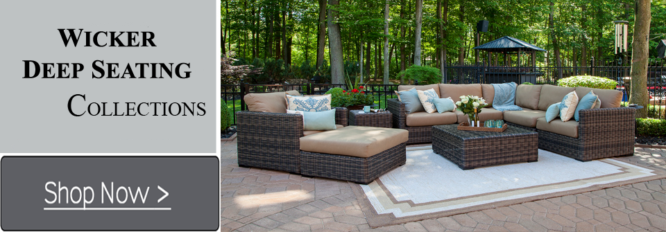 Lovable Luxury Outdoor Lounge Furniture Creative Of Deep Seating Wicker Patio Furniture Patio Conversation