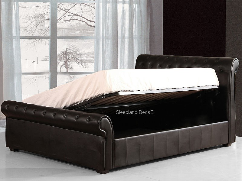 Lovable Luxury Storage Beds Cool Super King Size Ottoman Bed Luxury Black Chesterfield Ottoman