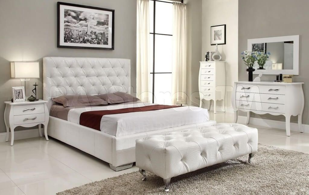 Lovable Luxury White Bedroom Furniture Furniture Luxury White Bedroom Furniture With Silver Drawer Pulls