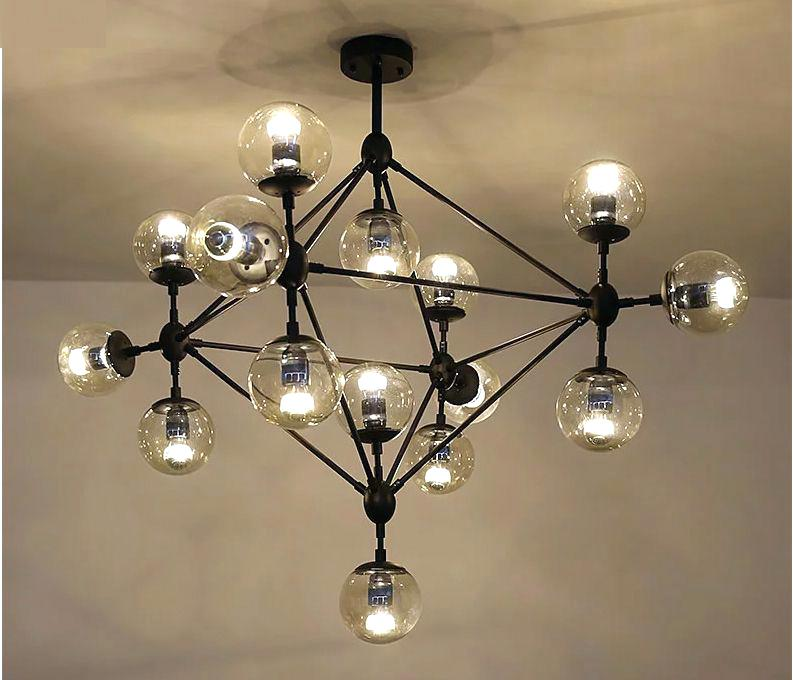 Lovable Modern Ball Chandelier Glass Ball Light Fixture Blogie